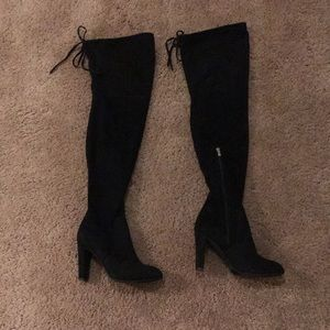 Black Thigh High Boots 🔥🔥🔥